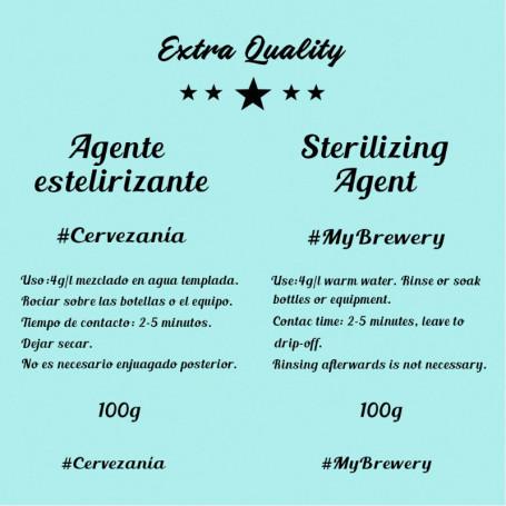 Agent stérilisant 100 grammes